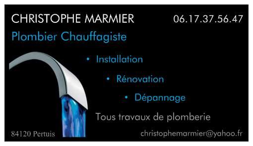 christophe marmier plombier chauffagiste pertuis. Black Bedroom Furniture Sets. Home Design Ideas